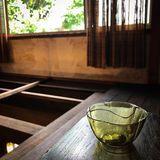03.edo glass yellow umegata sakazuki.jpg